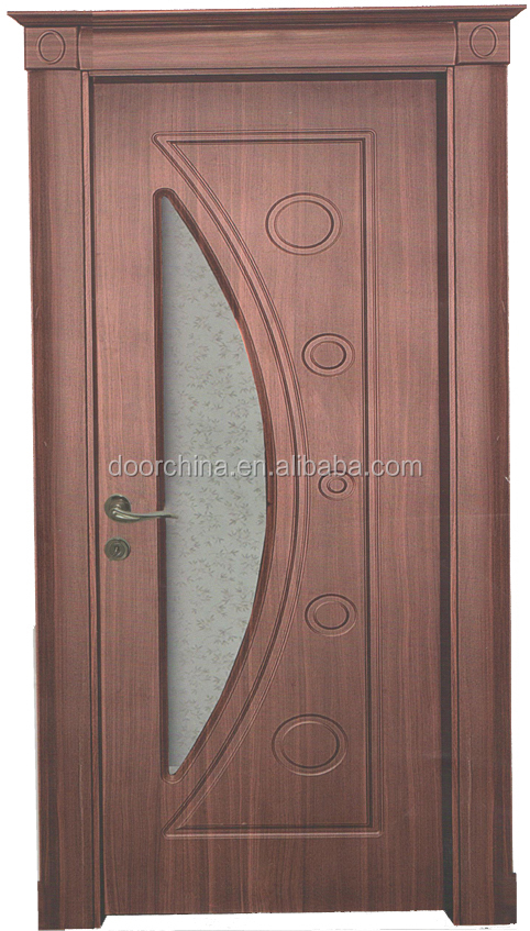 Turkish Wooden Diamond Glass Interior Doors Pvc Sample