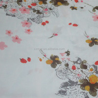 Floral rayon fabric at cheap price