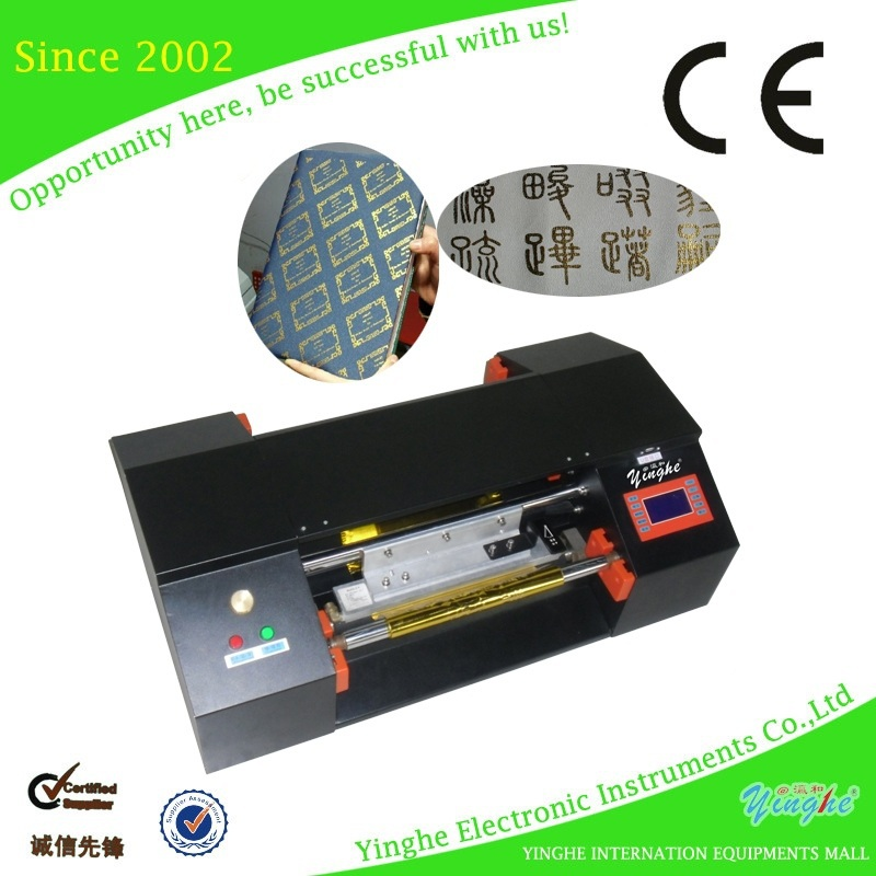 Large format and advanced quality hot foil logo printer
