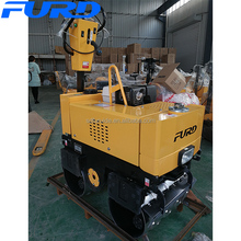Small Walk-behind Vibrating Trench Drum Road Roller (FYL-G800C))