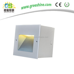 2016 hot sale 4.1w IP65 square LED Recessed Light outdoor wall light