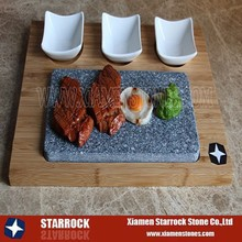 BBQ Stone Set Basalt steak grill plate hot rock cooking stone lava stone for cooking