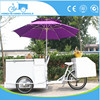 high quality freezer trike beverage vending tricycles