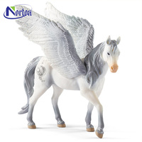 Outdoor decor customize fiberglass pegasus sculpture for sale NTBM-403A