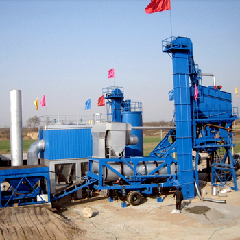 Widely Used YLB1000 Mobile Asphalt Mixing Plant for Sale in India