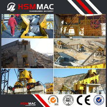HSM Stone Processing Sand Crushing Production Line Machine