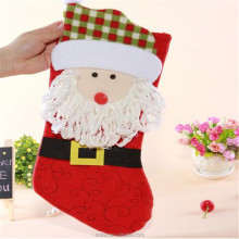 Fashion christmas stocking ,eyeball-catching Christmas gift christmas Decoration Supplies
