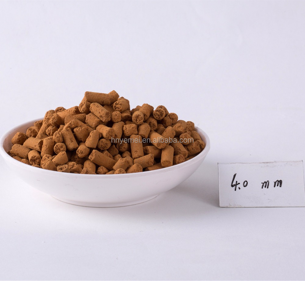 High Efficient Iron Oxide Desulfurization Catalyst for H2S Removal