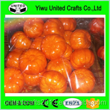 Factory direct Halloween Decoration craft wholesale artificial foam pumpkins