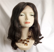Factory Price Natura Hair Full Lace Human Hair Wigs for Old Women