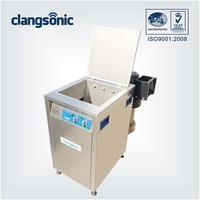 industrial big tank ultrasonic PCB board cleaning system silicon chip ultrasonic cleaning machine