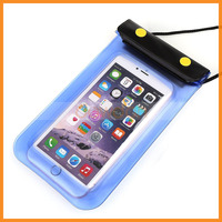 3 Zipper Lock Clear Window Taking Photo Waterproof Phone Pouch