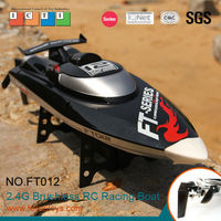 2014 hot product 2.4G 4CH 48 km/h high speed brushless gas power rc boat