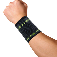 new style simple elasticity sports safety series green stripe wrist support YP2542