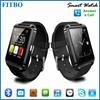 Global Top pedometer ANTI-lost cell phone watch android for Iphone 4 4s 5