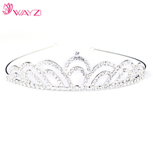 MAYZI brand custom silver india crowns wholesale tiaras and crowns wedding