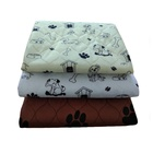 Anti-slip Silica Dots Reusable Absorbent Washable Pet Pad Training for Doggle /whlep Dog Sleeping Pee Pads