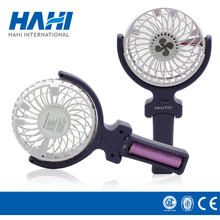Shenzhen plastic battery power portable cooling travel handy usb rechargeable small mini fan