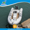 CE Approved Aluminum Hull Hypalon or PVC Inflatable RIB 580