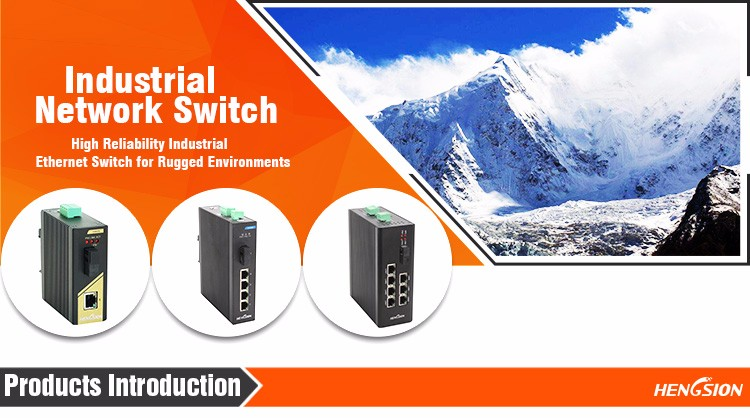 Professional Industrial Network Switch in China