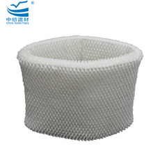 Replacement evaporative humidifier wick filter