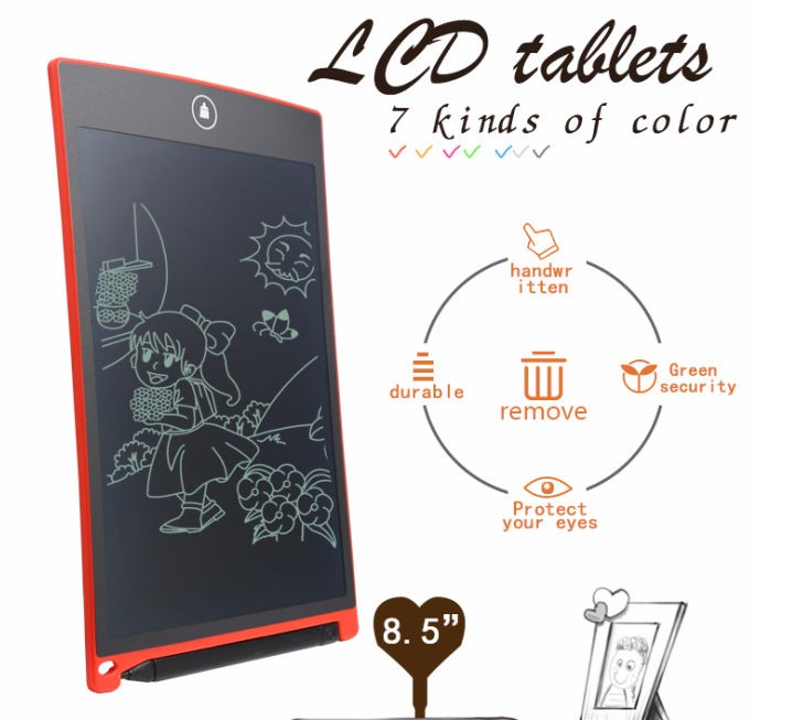 Durable Writing Tablet 8.5 Inch LCD E-writer Kids Writing digital Drawing Tablet