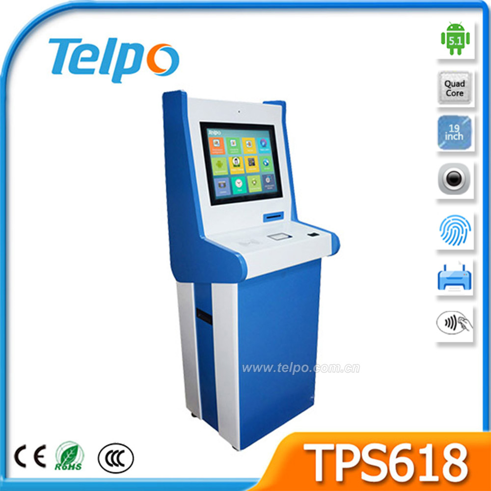 Complete Airport Touch Screen Kiosk for information checking
