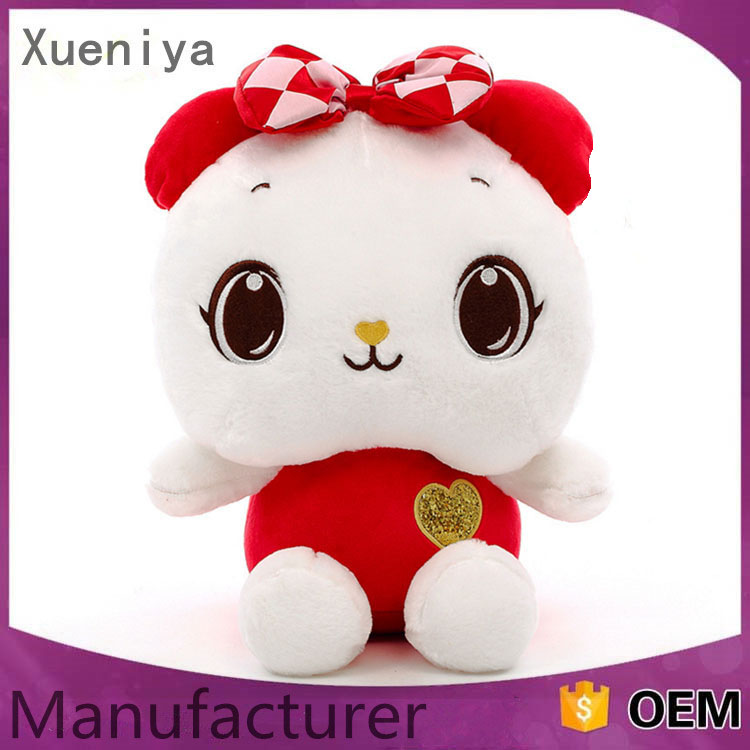 Best Made Factory Supply Cute Custom Plush Animal Toys Stuffed Bear
