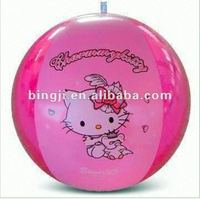 cartoon cat inflatable beach ball inflatable toy ball