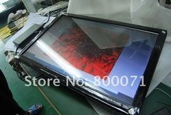 AIO 22inch infrared multi touch computer advertising with LED panel I3 2.9GHz GT ION 218 platform ,LED advertising player