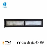 High Power Explosion Proof Ip65 Linear Highbay Light Fixture 120w Led HighBay Lighting
