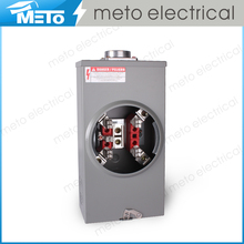 China MT-200A-4J-R Series Rectangle Grey Ring Type electric meter box Superior Meter Base Meter Socket