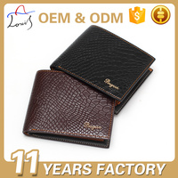 Top Sales OEM pu leather men purse