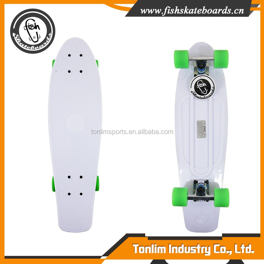 High Strength Plastic Molded Deck 27 inch cruiser skateboard