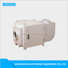 High efficiency electrostatic non consumption cost industrial filter gearing shaving processing