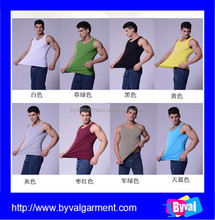 2015 new fashion tank top men,seamless top, custom colors tank top