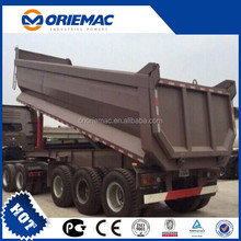 Tipper dump trailer 40 ton Chinese made truck and trailer