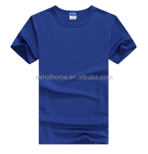 100 polyester blank dry fit t shirt