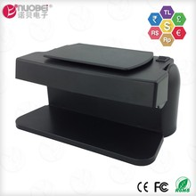 Multi bill portable electronic note checking fake currency note detector and counterfeit money checker