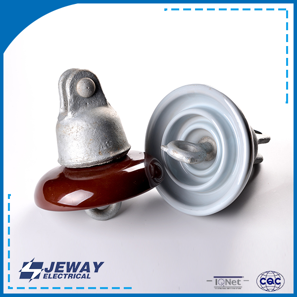 ANSI 52-1 high voltage power line IEC standard porcelain insulator