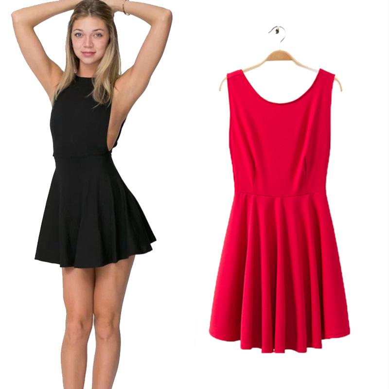 Платье с открытой спиной своими руками