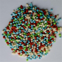 Colorful npk fertilizer 20-20-20 series of npk formulas fertilizer manufacturer