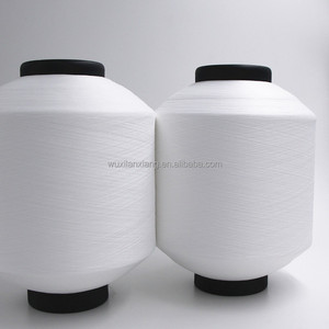Wholesale 150D /48f+40D spandex covered polyester filament yarn DTY for knitting