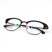 Spectacle frame, new model optical spectacle, china semi rimles spectacle frames