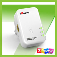 plug & play 200mbps powerline no software installation