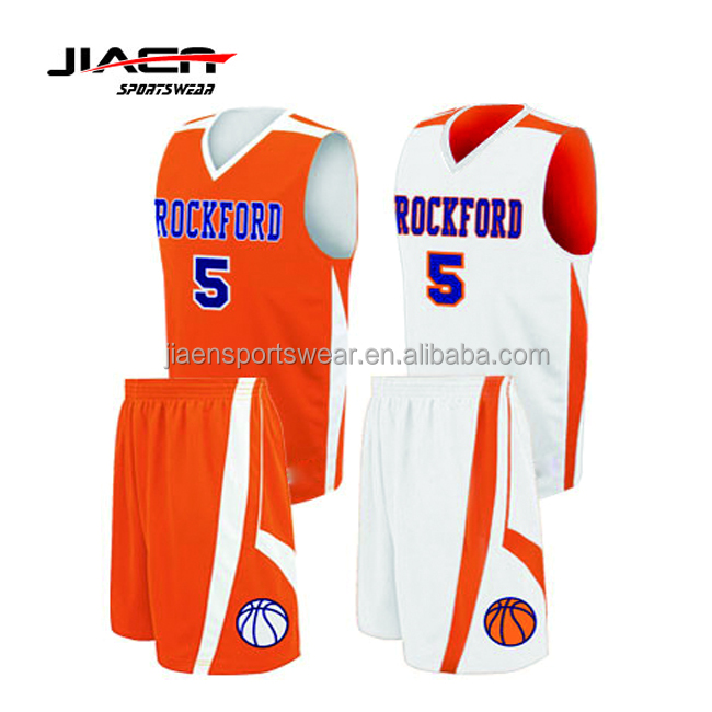 2017/2018 summer seasons most popular new design mens basketball uniform/college basketball jersey with tackle twill numbers