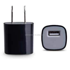1A USB Travel Charger Single Port Adapter Wall Plug for mobile phones Bluetooth Headset Led lights