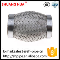 Stainless Steel Exhaust Flexible Pipe, Shuanghua Car Exhaust Manifold, Flexible Exhaust Muffler