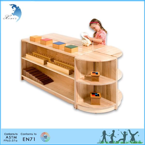 Perschool Home Children Furniture Sets Montessori Wooden