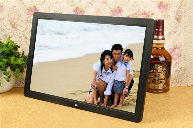 Back Fixed Bus TV 15/ 17/ 19/ 22 Inch LCD Monitor USB Media Player For Advertising